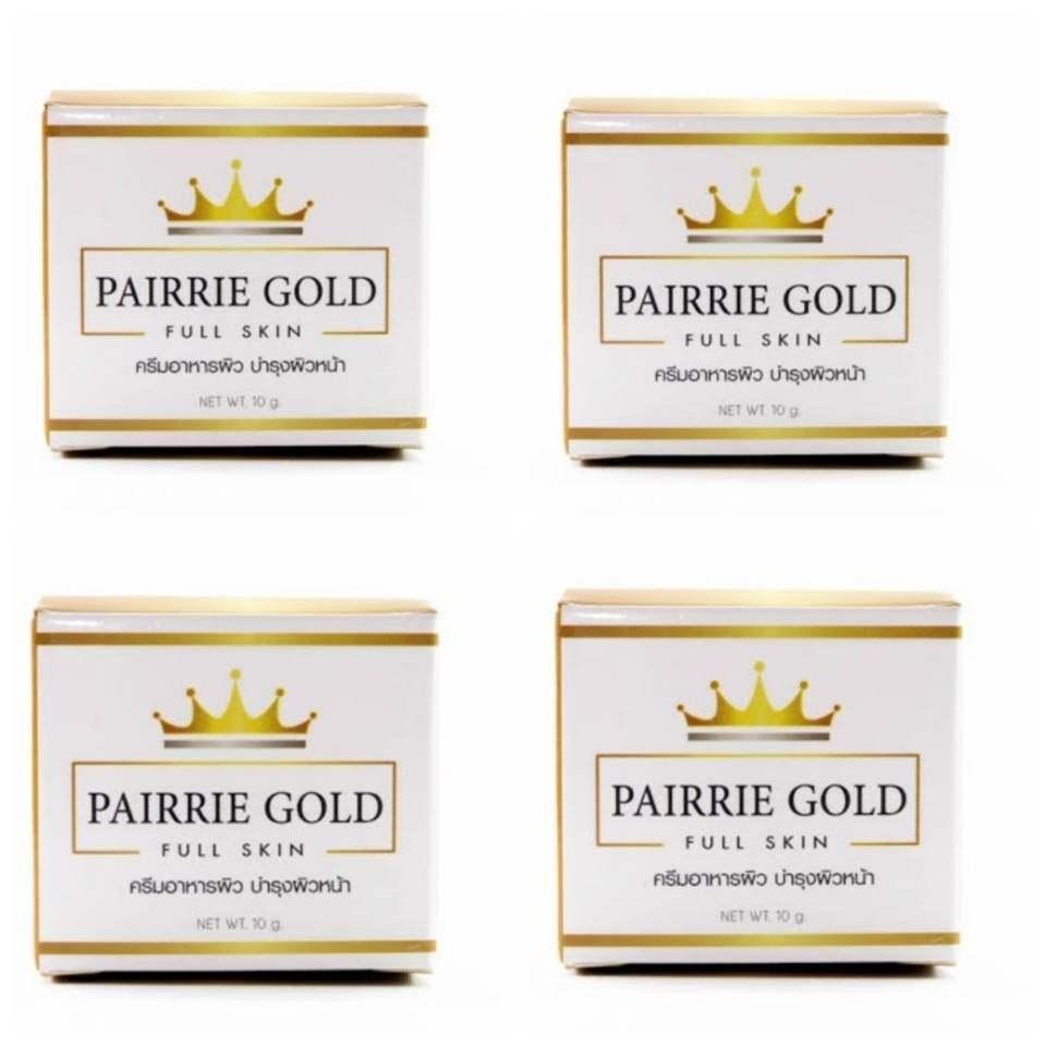 ครีมแพรี่โกลด์ Pairrie gold หน้าใส 4 กล่อง 40 g.