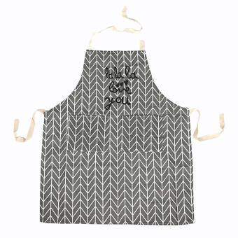Adjustable Buckles Style Apron Kitchen Cooking Coffee Shop Waitress Work Uniform Home & Garden Household Cleaning