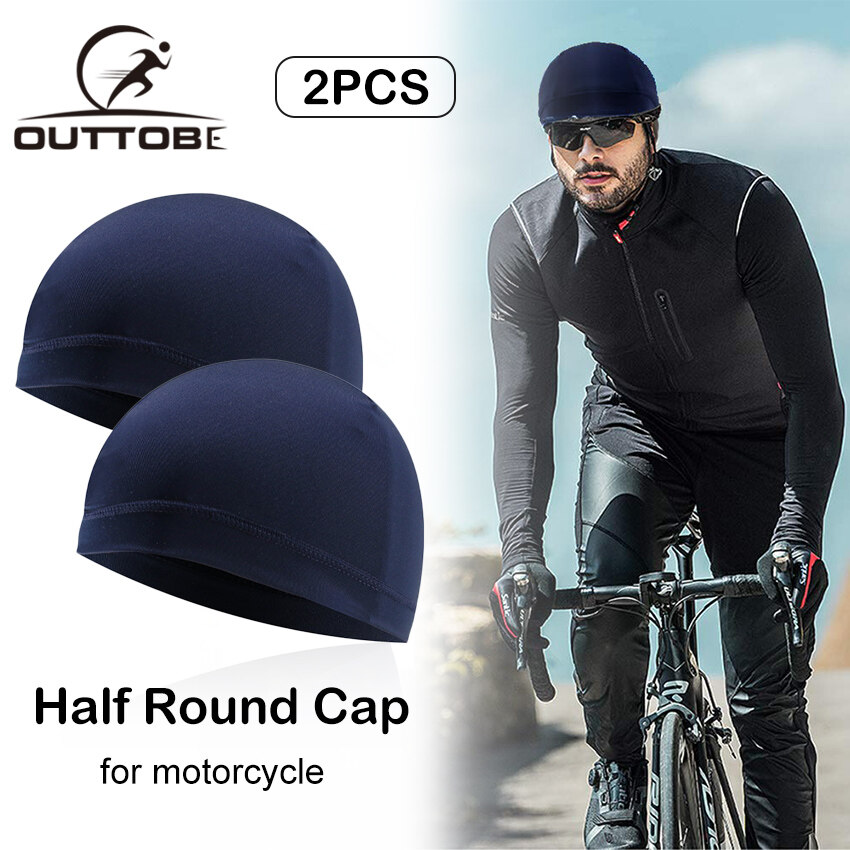 Breathable Motorcycle Helmet Inner Cap Sunscreen Quick-Drying Liner Sports Hat