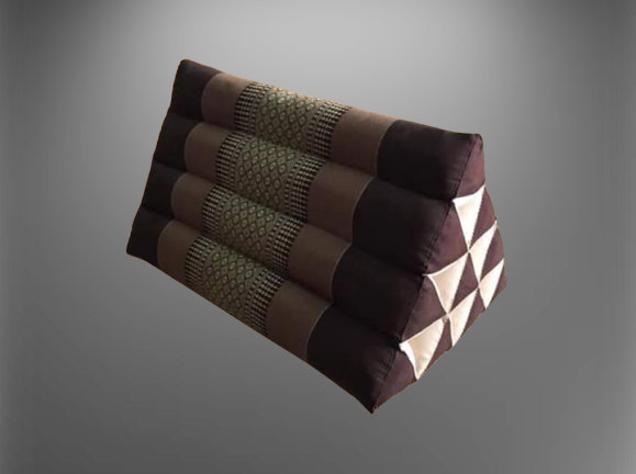 หมอนอิงใบใหญ่ ,หมอนอิงสามเหลี่ยม ผ้าขิด 10 ช่อง หลายสี ผ้าขิด(50x32x32) ลายขิด อาจจะไม่เหมื่อนในแบบเหนืองจากสินค้าแต่ละชุด สินค้าโอท๊อป ,otop,งานทำมือ.