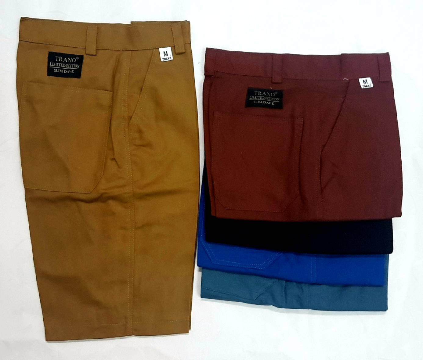 *new*กางเกงขาสั้น ผู้ชาย สีพื้น ราคาสบายกระเป๋า มีหลายสี By Nanashop02.