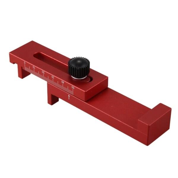 Woodworking space Gauge Depth Measuring Ruler Line Sawtooth Ruler Marking Tool 2
