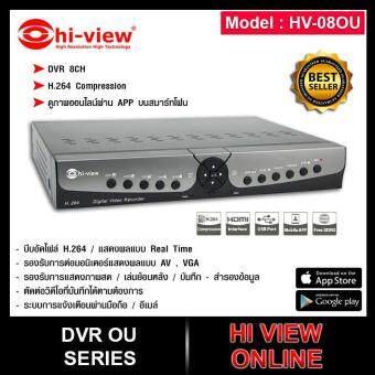 การส่งเสริม hi-view เครื่องบันทึกภาพ DVR HV-08ou (8CH) ดูภาพออนไลน์
