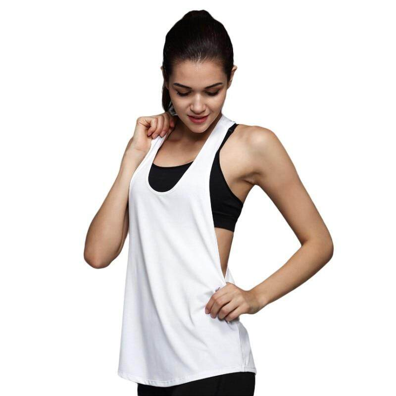 Sport Running Loose T Shirt Women Dry Quick Gym Yoga Shirt Ladies Fitness tops