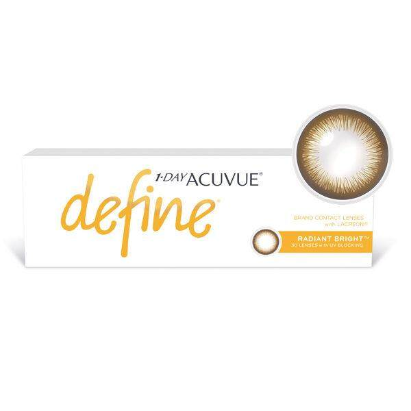 1-Day Acuvue Define Radiant Bright By Your Lens.