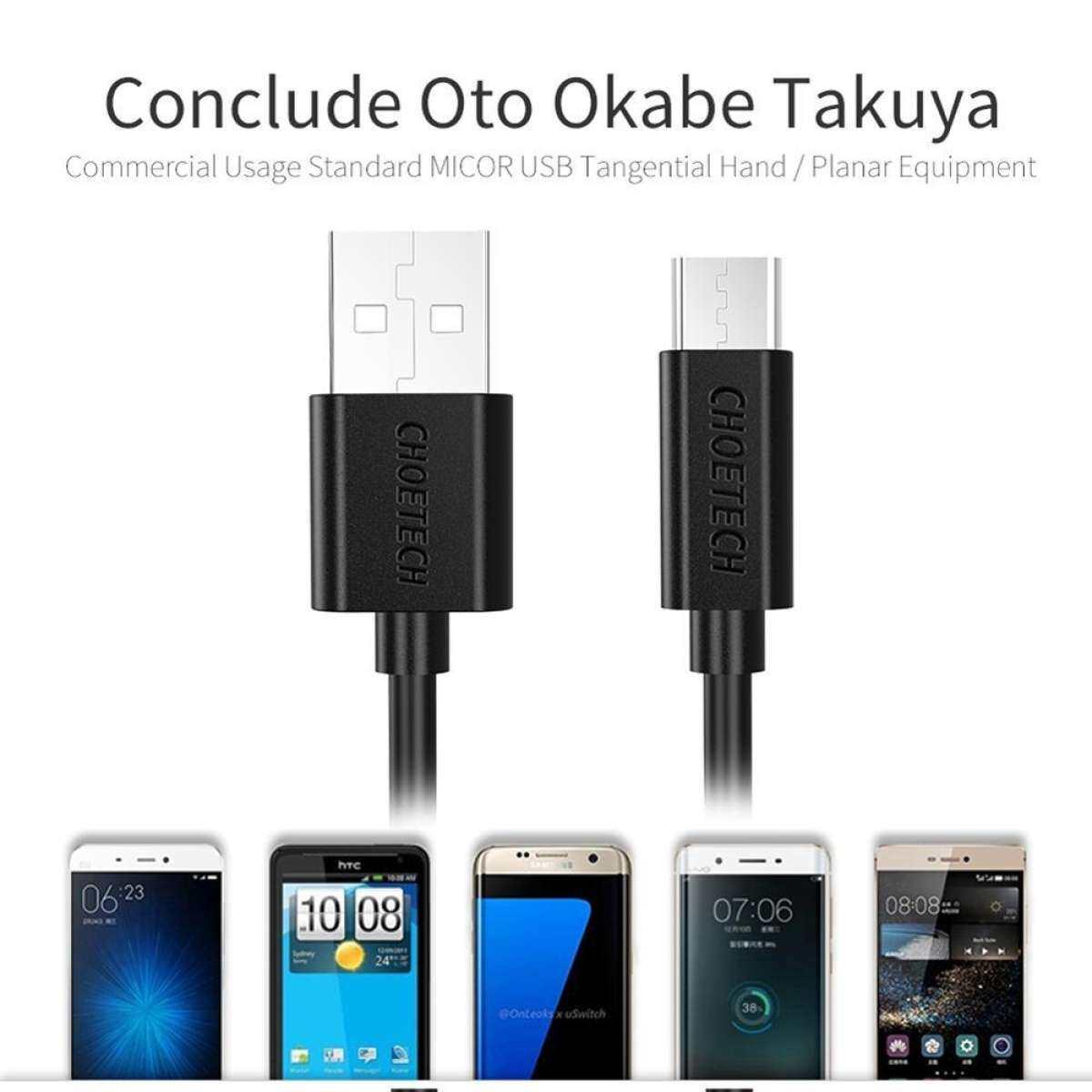 CHOETECH Micro Usb Cable Data USB Micro Cable 100% Original