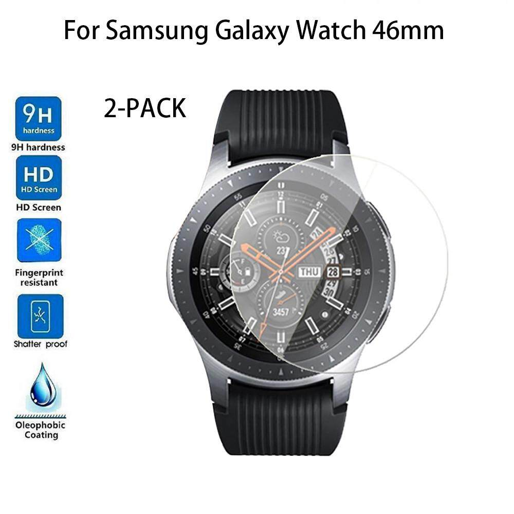 2-PACK Tempered Glass Screen Protector For Samsung Galaxy Watch 46mm Malaysia