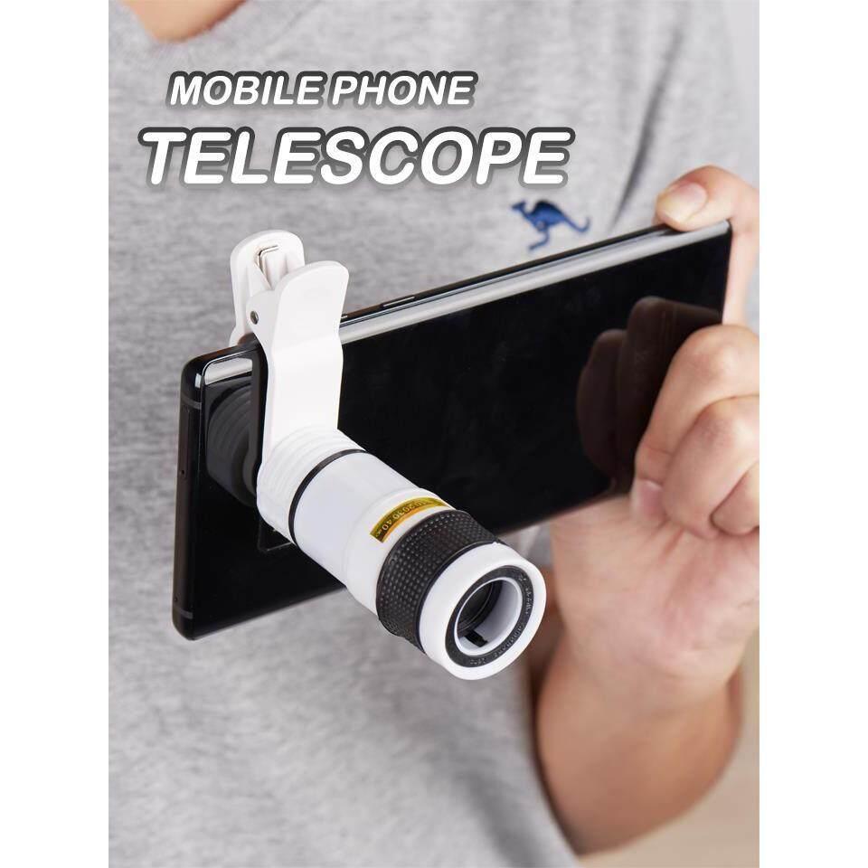 Stx เลนส์ซูมติดโทรศัพท์มือถือ เลนส์ซูมมือถือ เลนส์ขยาย เลนส์มือถือ คลิปเลนส์มือถือ Mobile Phone Telescope.
