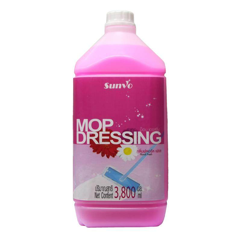 น้ำยาม๊อบ เดรสซื่ง ฟลอรัลเฟรช 3.8 ลิตร ซันโว By I Have Item.