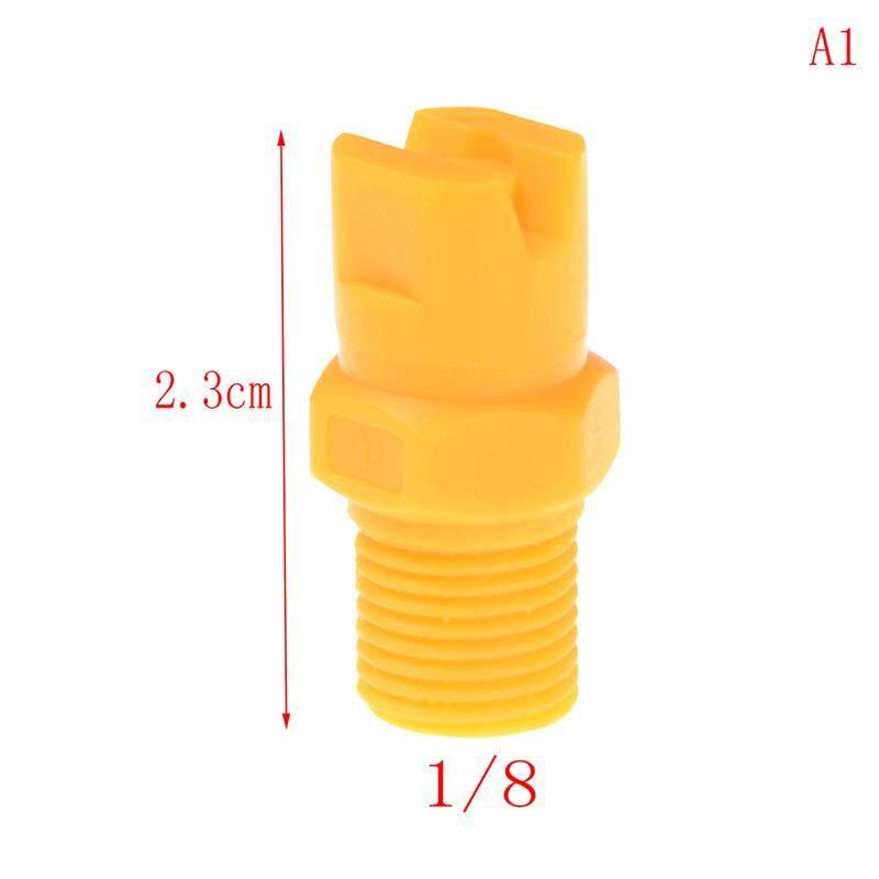 Plastic Vee Jet Flat Fan Spray Nozzle 1/8 1/4 3/8 1/2 Industrial Cleaning Type:A1 Beautiful Speace