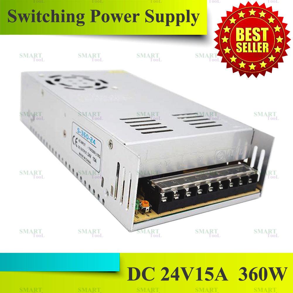 Switching Power Supply สวิตชิ่งเพาเวอร์ซัพพลาย 24V 5A / 10A / 15A สวิตชิ่ง 24V 5A / 10A / 15A