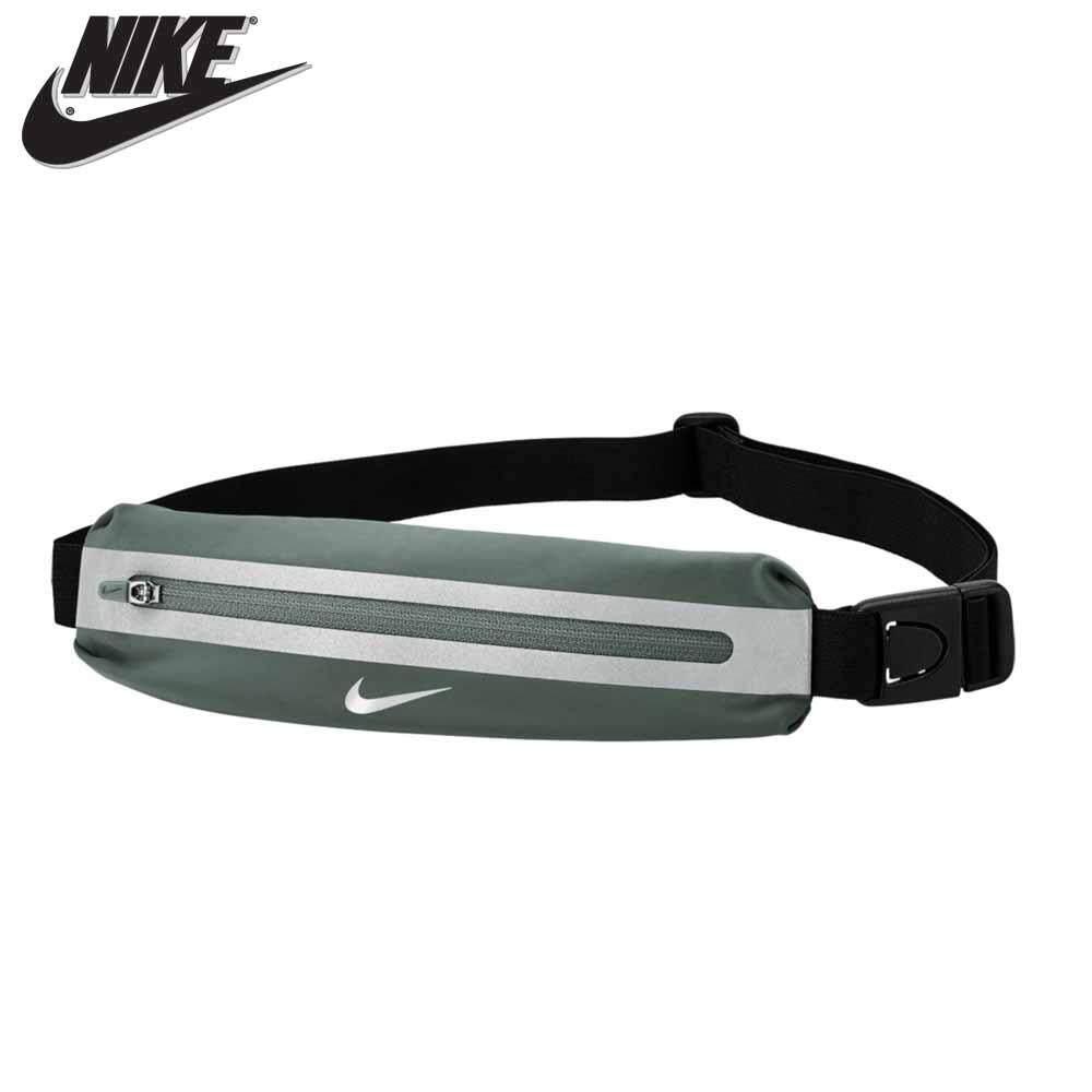 Nike กระเป๋า กระเป๋าคาดเอวnike กระเป๋าคาดเอว ไนกี้ Runningslimwaistpackjuniper 90337 สีเงิน(850).