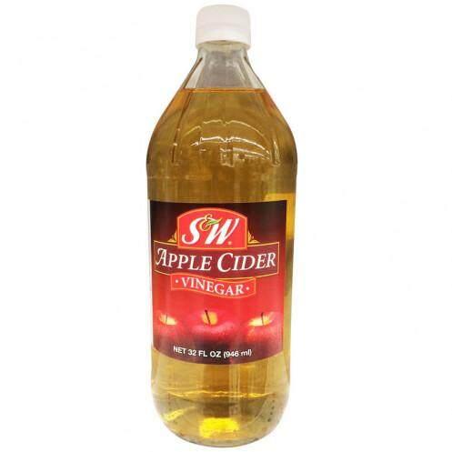 น้ำส้มสายชูหมักแอปเปิ้ล เอสแอนด์ดับบิว (32 ออนซ์) โปรโมชั่น ประหยัด ราคาถูก การันตี ของแท้