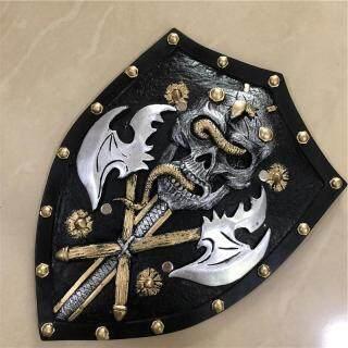1 1 Cosplay Grim Reaper Skeleton Head Shield Movie Game Anime Vũ Khí Prop Vai Trò Chơi PU Hành Động Mô Hình Quà Tặng Halloween thumbnail