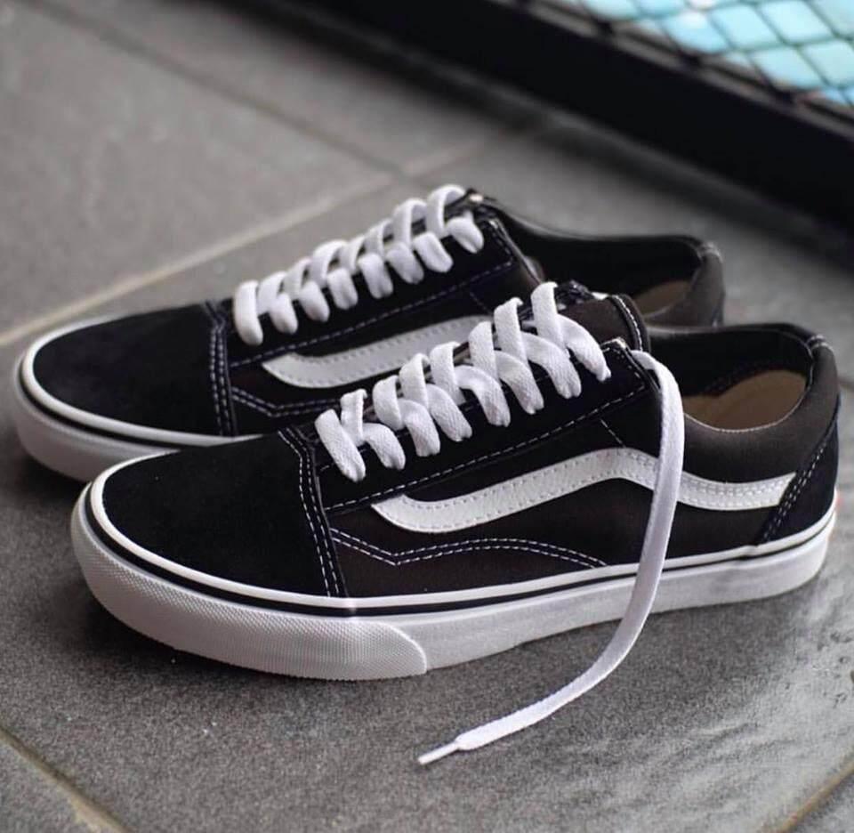 Vans Old Skool Classic พร้อมกล่อง (ส่งkerry-จ่ายปลายทาง) By Sneaker.choose.