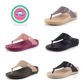 KOZO ++ MONOBO รองเท้าแตะแบบมีหูพื้นนุ่มกันน้ำได้ MONOBO รุ่น MONIGA 6.4 (ของแท้เท่านั้น)-