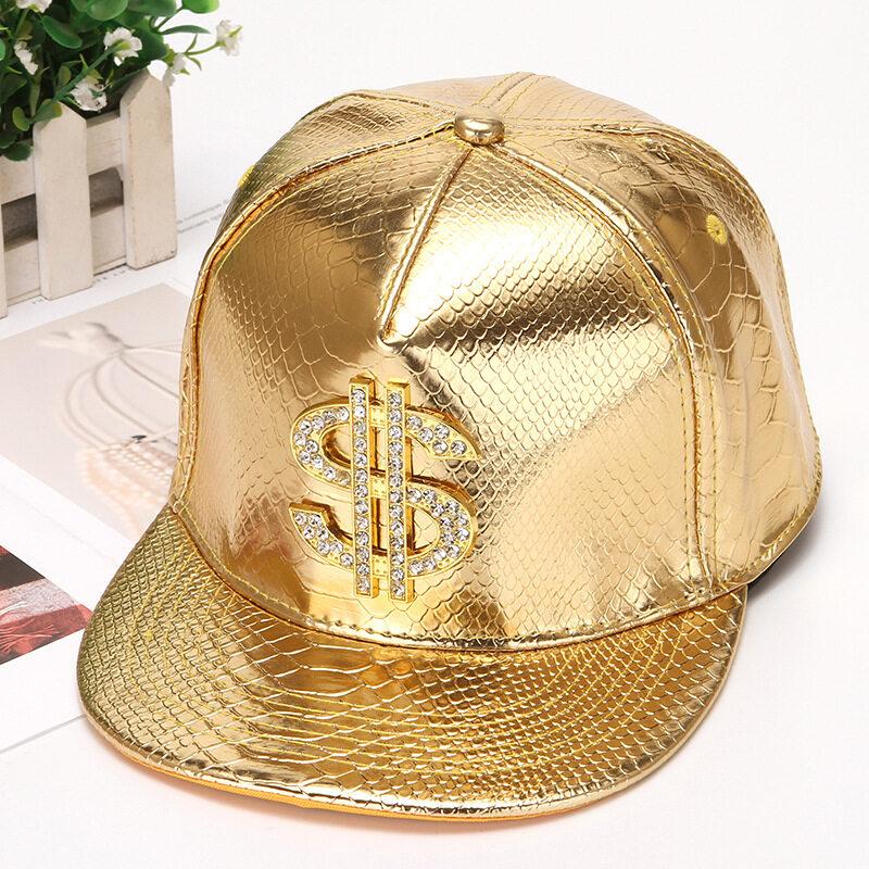 สไตล์ใหม่จระเข้เบสบอลหมวกเบสบอลหมวกเงินดอลลาร์ (ทอง) - นานาชาติ.