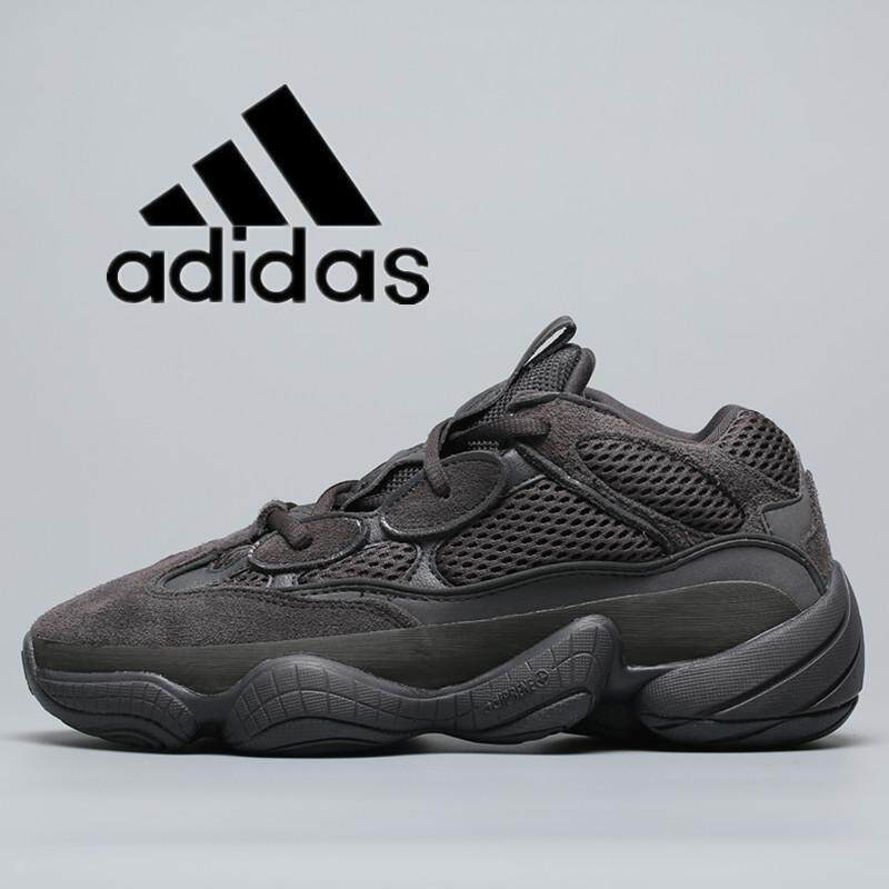Factory Outlet Top Original adidas__Yeezy_Desert_Rat_500 Mens and womens sports shoes casual shoes running shoes old shoes black