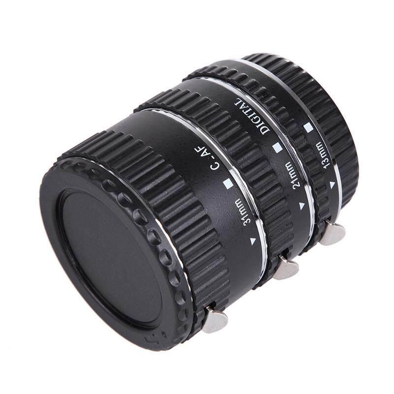 Canon Eos Ef Ef-S Auto Focus Macro Extension Tube ท่อมาโคร ออโต้โฟกัส เมาท์โลหะ Stainless.