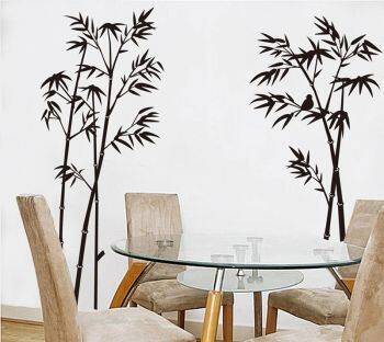 Bamboo Mural Home Decor Decals Removable Craft Art Wall Stickers