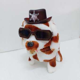 หมา ใส่ถ่าน DOG B/O Light & Sound  มีเสียง เห่า เดินได้ หางกระดิ๊กได้ สุดน่ารัก เด็ก ๆ ชอบแน่นอน ครับ น่ารักดี  สินค้าได้ตามรูปเลยครับ-