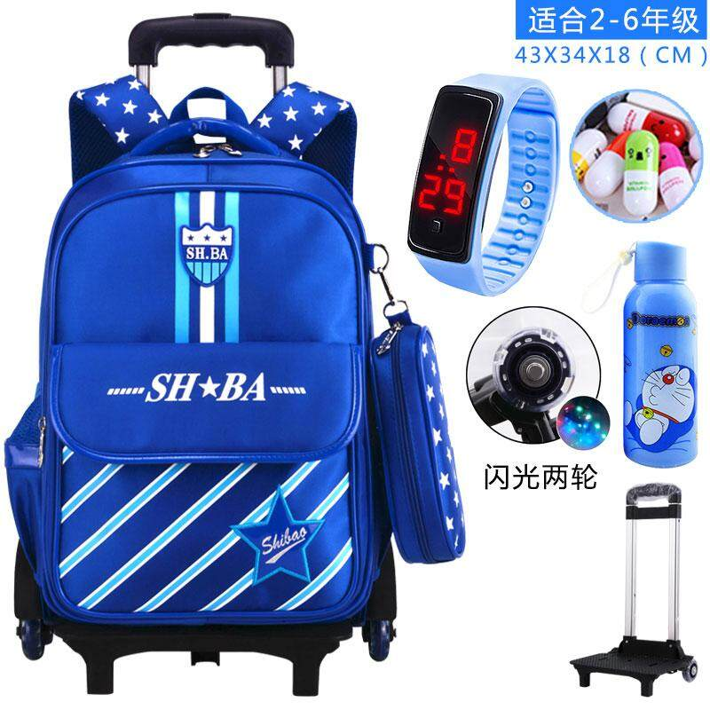 bd3e319730 3D Race Car New Style 6-12-Year-Old Trolley bag bags Boy