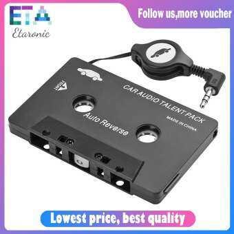 Etaronicy Aoto Universal CASSETTE เทปเสียงตัวแปลงอะแดปเตอร์สำหรับโทรศัพท์ MP3 Palyer-