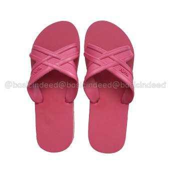 Puppa รองเท้าแตะสวม - แดงอมชมพู