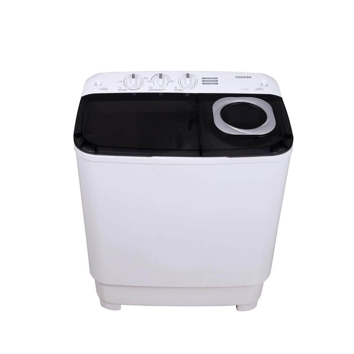 TOSHIBA เครื่องซักผ้า 2 ถัง ขนาด 8.5 กิโลกรัม VH-H95MT ราคาถูก
