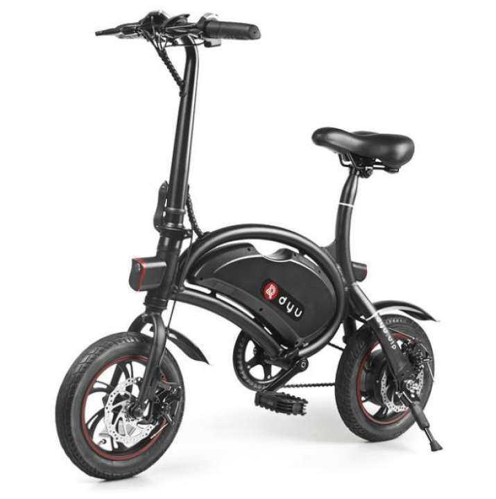 DYU D2 Seated E-Bicycle จักรยานไฟฟ้าพับได้ รุ่นDYU D2 - รับประกันศูนย์ไทย 1 ปี / Mac Modern