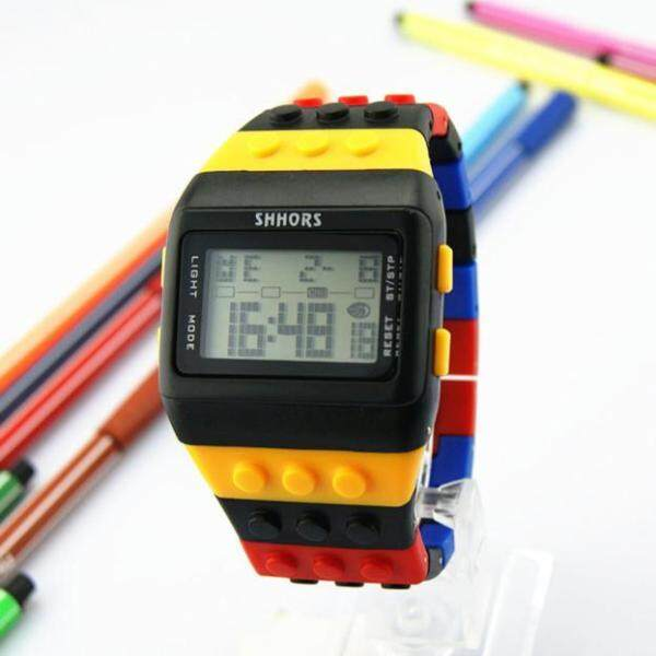 CNB2C Unisex Colorful Digital Wrist Watch Malaysia