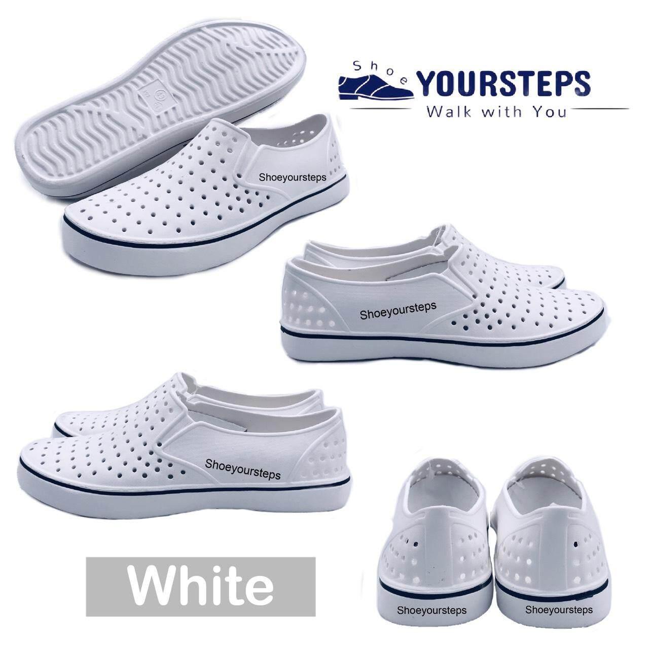 รองเท้าผ้าใบยาง ไฟล่อน แบบสวม เนื้อนิ่ม ใส่สบาย ราคาถูก By Shoesvillage.