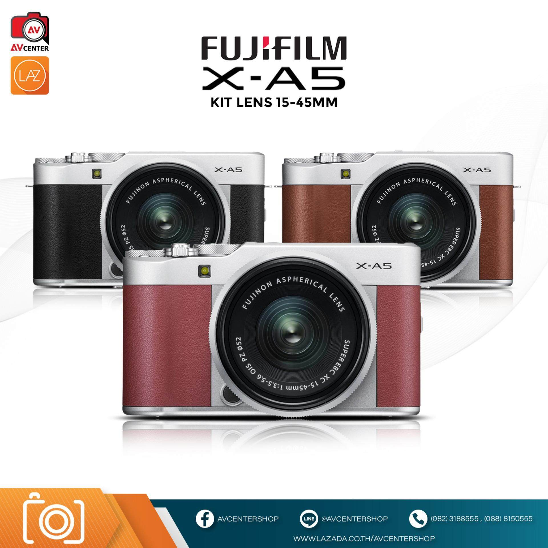 Fujifilm X-A5 Kit 15-45mm Ois Pz By Avcentershop.