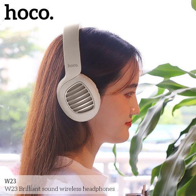 รีวิว หูฟังแบบครอบหู หูฟังบลูทูธ หูฟังไร้สาย Headphones W23 Brilliant แบบครอบหู รองรับมือถือทุกรุ่น ทั้งระบบ iOS และ Anroid ใช้งานได้ดี ใช้ได้นาน สวยๆเก๋ๆ
