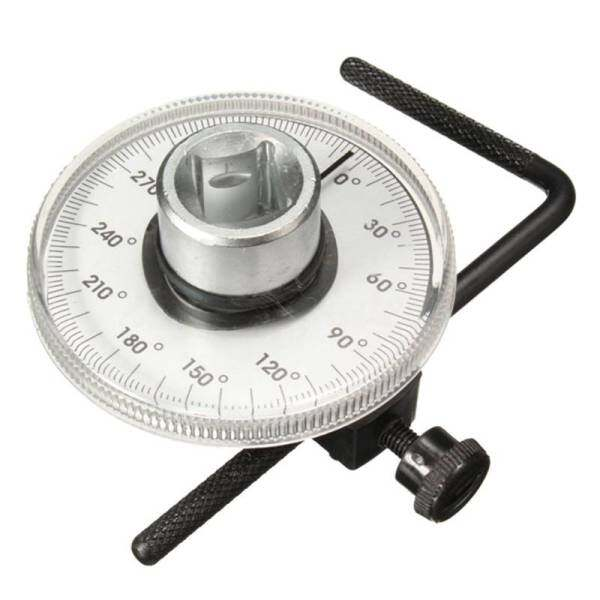 Professional Quality Drive Torque Angle Gauge Wrench Car Garage Adjustable
