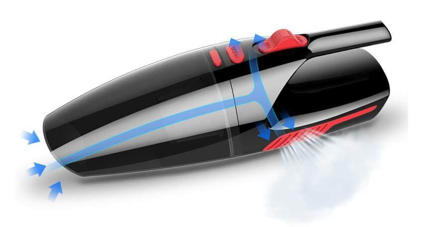 Aikesi-Ak911 เครื่องดูดฝุ่น เครื่องดูดฝุ่นในรถยนต์ เครื่องดูดฝุ่นพกพา 12v กำลังแรงดูดสูง มาพร้อมไส้กรองคุณภาพสูง มีหัวดูด 5 แบบ,กรองละเอียดระดับซุปเปอร์ไมโคร ล้างทำความสะอาดง่าย เครื่องดูดฝุ่นในรถ ไร้สาย 120w มีแบตในตัว.