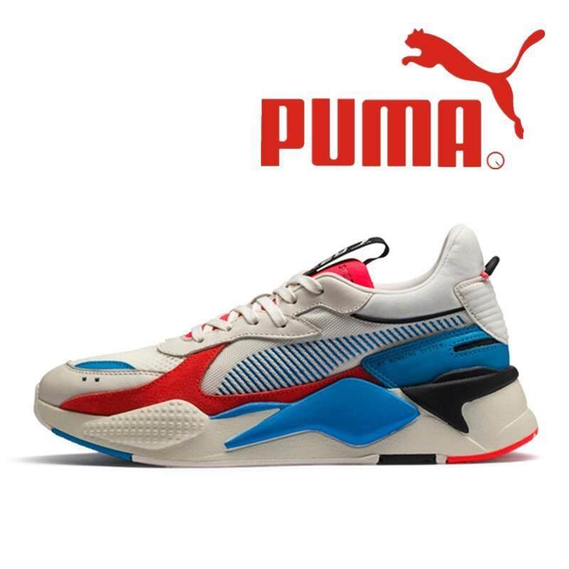 PUMA_RS-X Reinvention Dòng Nam Của Ánh Sáng Chạy Bộ Nữ Thoáng Khí Giày Thể Thao Biến Hình Colorblock Màu Be Hồng 369479-01 36-45 Chất Lượng Tốt