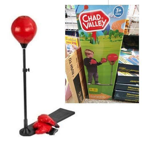 Chad Valley Punch Bag And Glovesชุดอุปกรณ์ต่อยมวยสำหรับเด็ก ชุดชกมวย ต่อยมวย By Be Items.