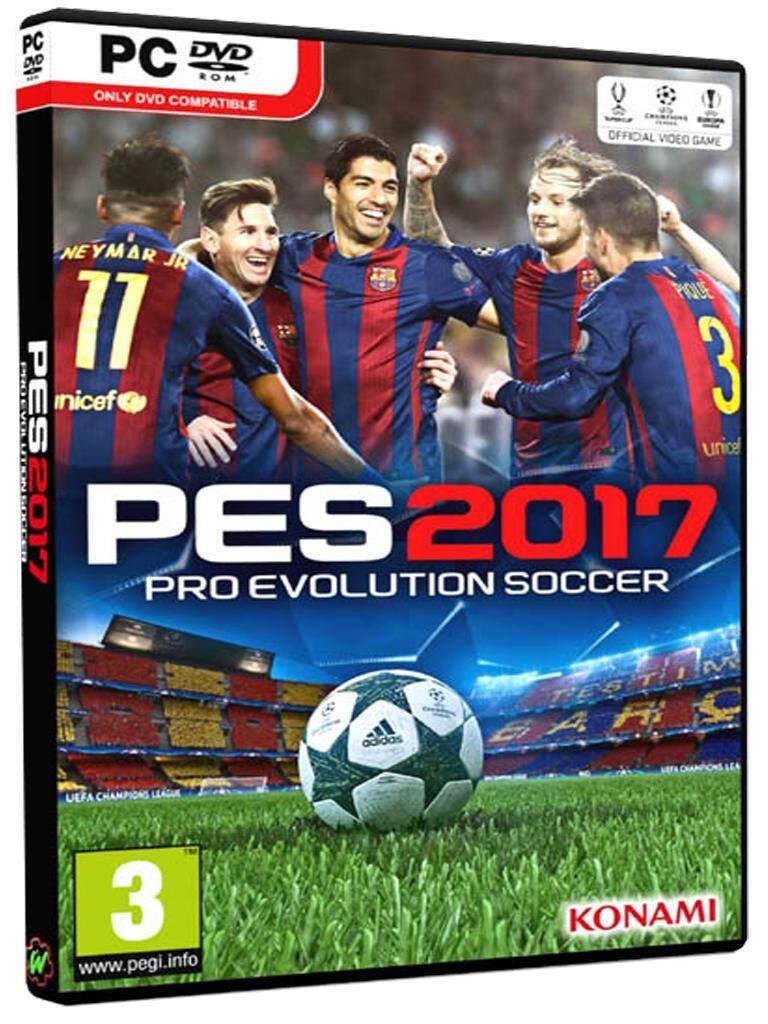 แผ่นเกมส์ Pc Game - Pes 2017 - Pro Evolution Soccer 2017 + Pte Patch ตัวสุดท้ายของ Pes 2017 [ติดตั้งเสร็จตัวเกมเป็น เวอร์ชั่น Version 1.04.00 + Data Pack 3.00 ไม่ต้องตั้งค่าอะไรให้วุ่นวาย] ตัวอย่างตามภาพด้านใน.