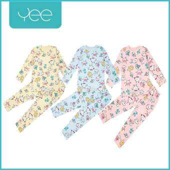 YeeShop ชุดเสื้อผ้าเด็กผู้ชาย/เด็กผู้หญิงแขนยาวเข้าชุด  ลายนกและเพื่อนๆ (0-3years)-