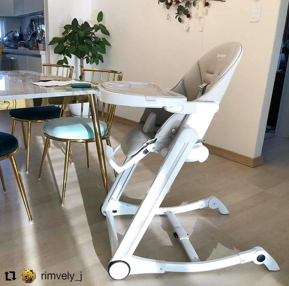 โปรโมชั่น bonbebe Multi-level High Chair มีทั้งหมด 6 สี ปรับระดับได้ ลิขสิทธิ์แท้