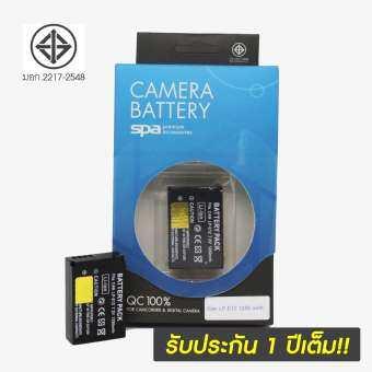 แบตเตอรี่กล้อง Canon ยี่ห้อ SPA Battery รหัส LP-E12 Replacement Battery ใช้กับ Canon D-SLR EOS 100D , EOS M , EOS M2 , EOS M10 , EOS M50-