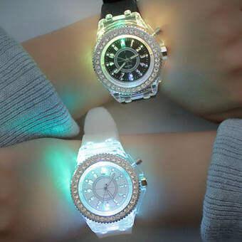 นาฬิกาเรืองแสง นาฬิกาแฟชั่น LED ยอดฮิตมากในขณะนี้! ราคาถูก พร้อมส่งจากไทย  LL01