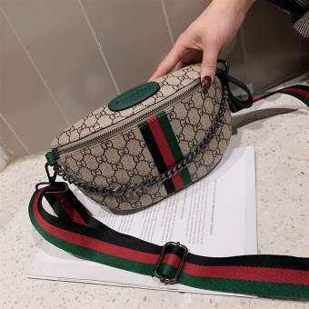 PANDA SHOP กระเป๋าคาดอกพิมพ์ลาย กระเป๋าผู้หญิงPDB99