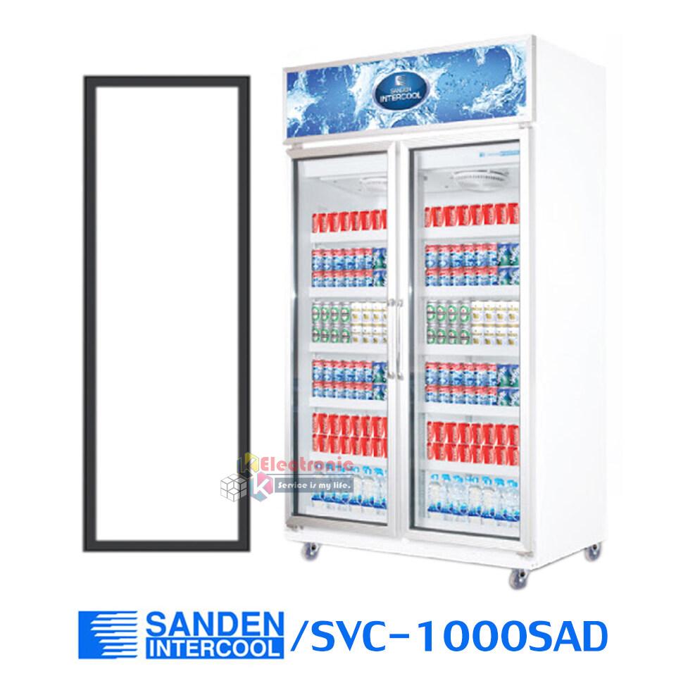 ขอบยางประตูตู้แช่ Sanden Intercool รุ่นsvc-1000sad (ตู้แช่ 2 ประตูใหญ่)ของแท้.