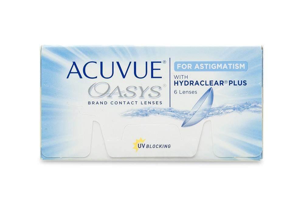 Acuvue Oasys For Astigmatism (มีสายตาเอียง).