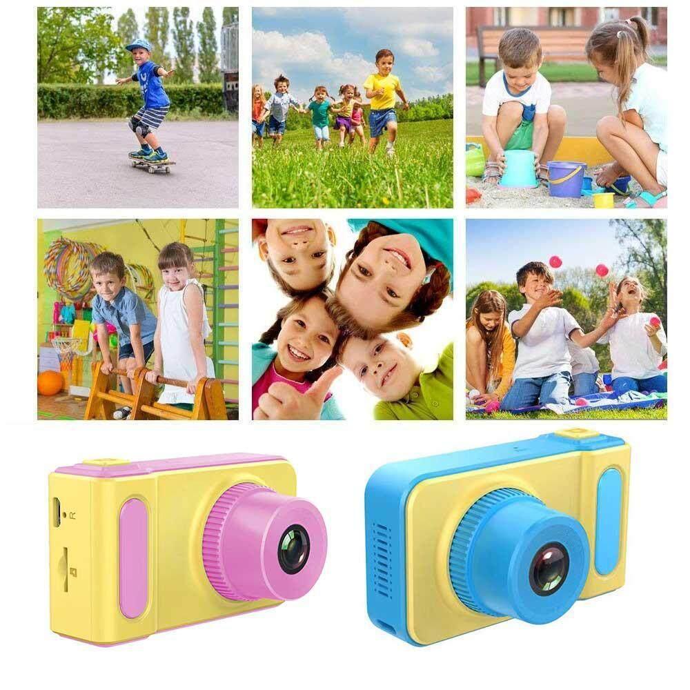 กล้องถ่ายรูปสำหรับเด็ก Digital Camera Mini Fun Kids Camera, Kids Camera 8mp Hd Camera Camcorder 2.0 Lcd, Supports Up To 32g Sd Card, Supports 8 Languages The Best Gift For Children By Ryan_shop.