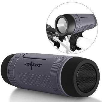 Zealot ลำโพงบลูทูธสำหรับออกกำลังกาย S1 Waterproof Wireless Sport Music Outdoor Flashlight  ลำโพง ลำโพงไวเลส ลำโพงกันน้ำ ไฟฉาย