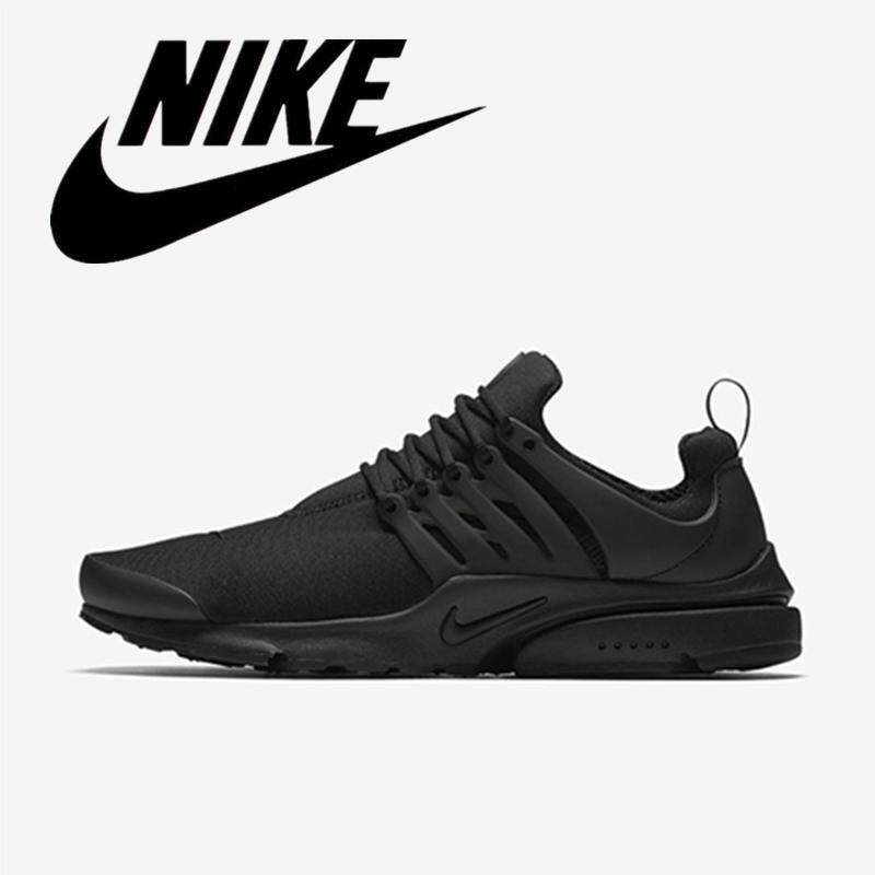 new concept 8c3a6 04e82 NIKE air PRESTO men s shoes breathable padded lace casual shoes comfortable  walking shoes running sneakers Wear resistant Black 848187