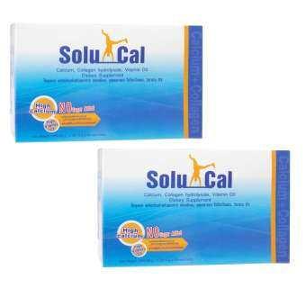 SoluCal 165.05 กรัม 30 ซอง (2 กล่อง)-